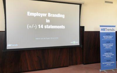 Spreker op HR Trends-congres