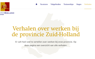 1 jaar bij de provincie Zuid-Holland – De site werkenvoorzuid-holland.nl